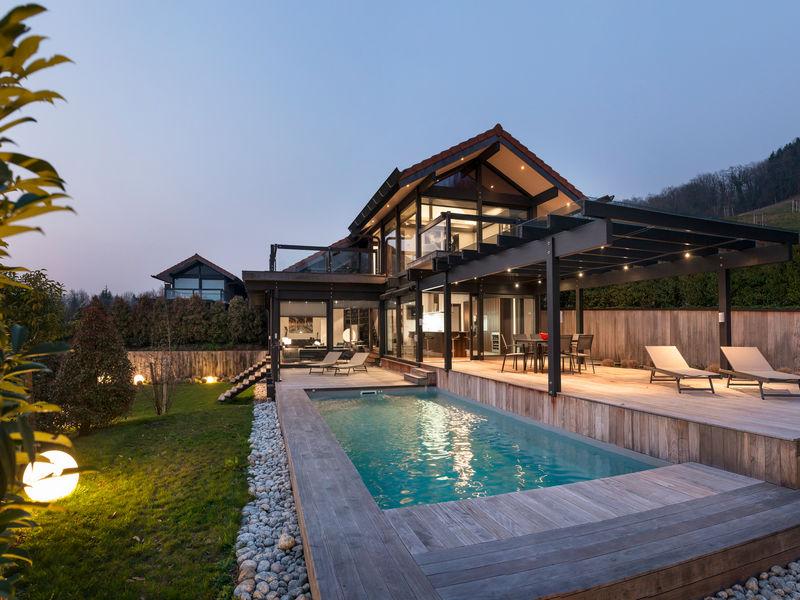 Realisations De Maisons Et Chalets D Architecte Sur Mesure Haute Savoie Axe D
